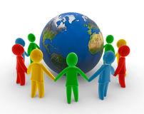 être-humain-global-à-chaînes-9133846