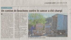 2016.05.05 bouchons Amorim Vaucluse matin