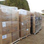 2 tonnes de bouchons de liège à destination d'Amorim